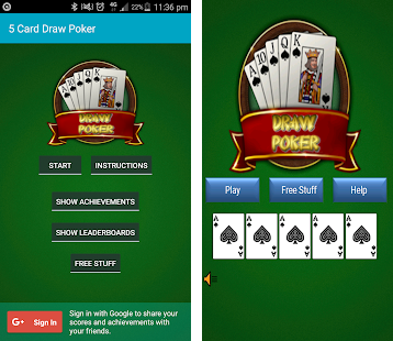 5 card draw games